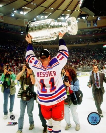 Mark Messier 1993-94 Stanley Cup Finals Celebration Photo Print (16 x 20) 8ac5e8173dd36993be3e309dde96afb3