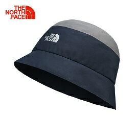 [ THE NORTH FACE ] GORETEX 撞色防水梭織帽 灰/藍 / 遮陽帽 / 公司貨 NF00CF9LLGN