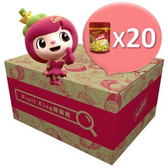 【Fruit King鮮果乾】金枕頭榴槤30g*20包