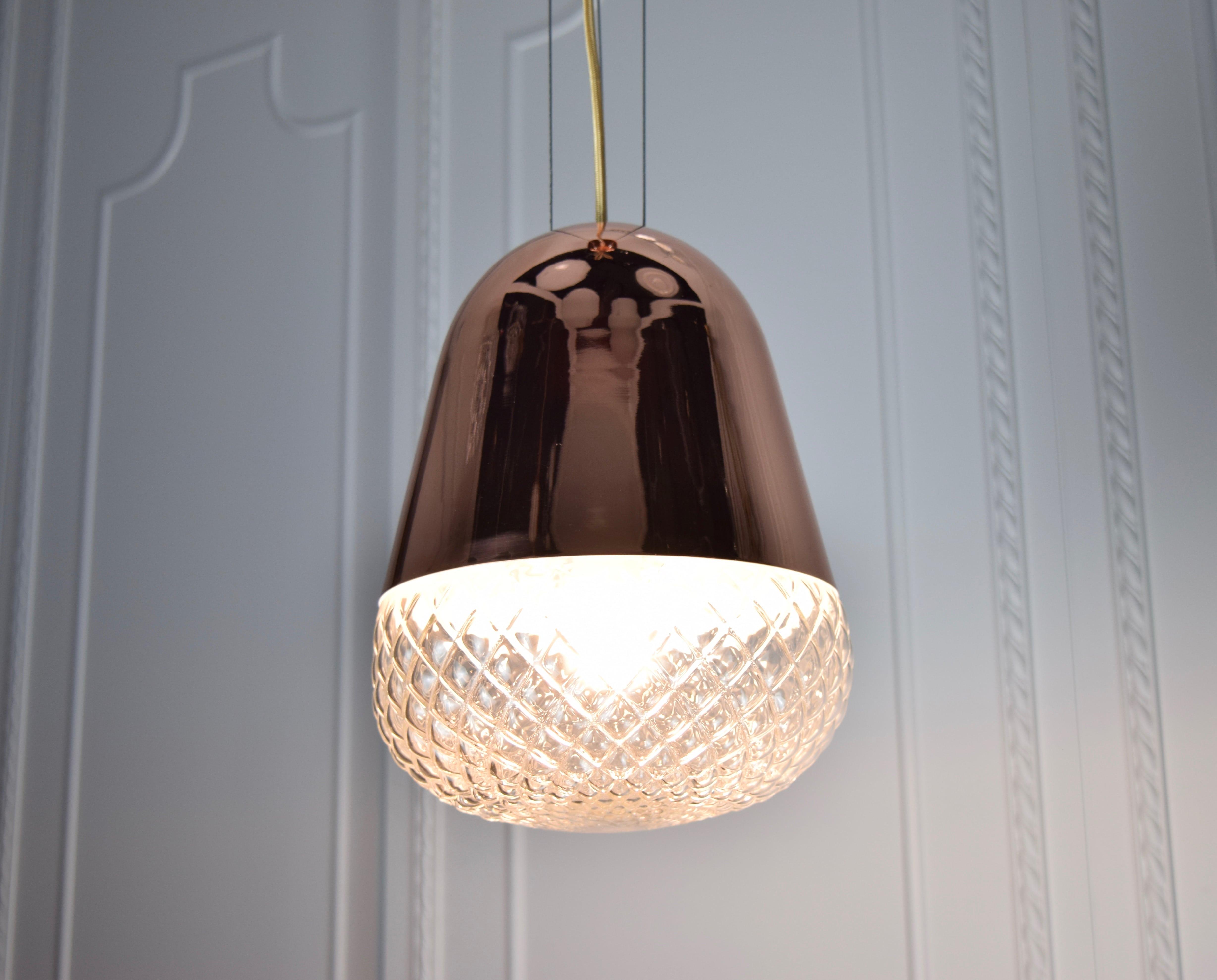紅銅玻璃吊燈-BNL00118 3