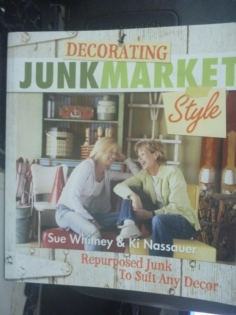~書寶 書T8/ _XEB~Decorating Junkmarket Style_Sue