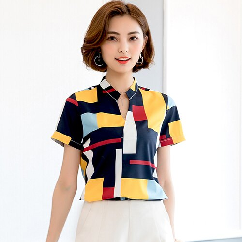 印花格子襯衫(2色S~2XL)【OREAD】 0