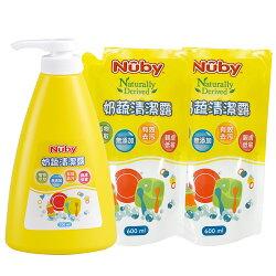 美國 Nuby 奶蔬清潔露組合包(1罐2包)