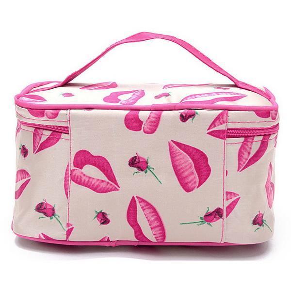 Cosmetic Bag makeup Organizer Holder Handbag 5