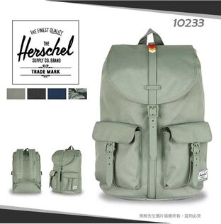 《熊熊先生》Herschel加拿大潮流品牌大容量商務後背包DAWSON旅遊雙肩背包13吋筆電包10233寬版背帶