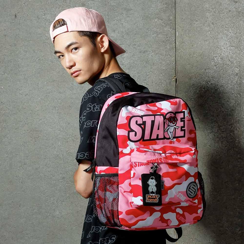 STAGE BAG × UNCLES FRIENDS PISCES BACKPACK 粉紅色 雙魚座 1