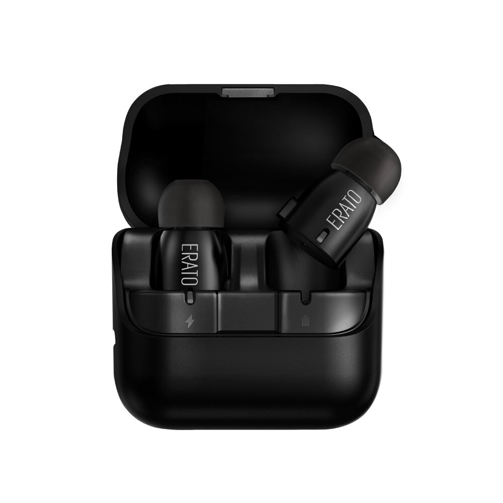 ERATO Verse Wireless Bluetooth Earbuds - Black (AEVE00BK) with Portable Charging Case 6