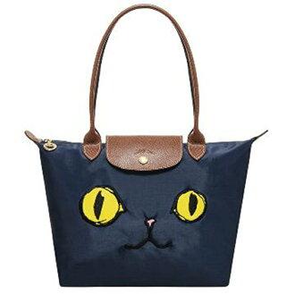 LONGCHAMP 2605 576 556新款包包貓咪款長柄小號折疊包水餃包