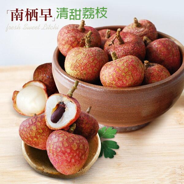 【築地一番鮮-預購】清甜楠西早生荔枝(5斤)_加購第2件只要459元