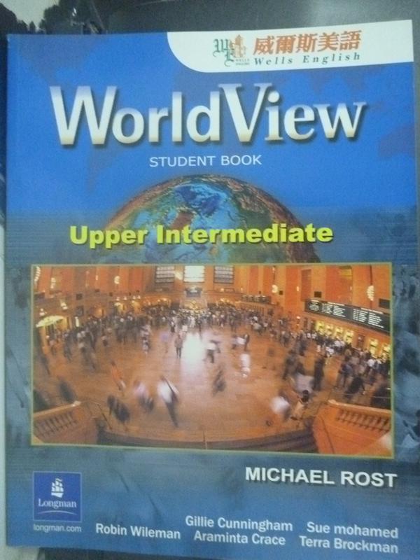 ~書寶 書T4/語言學習_WFS~WorldView Level 3_LONGMAN GR
