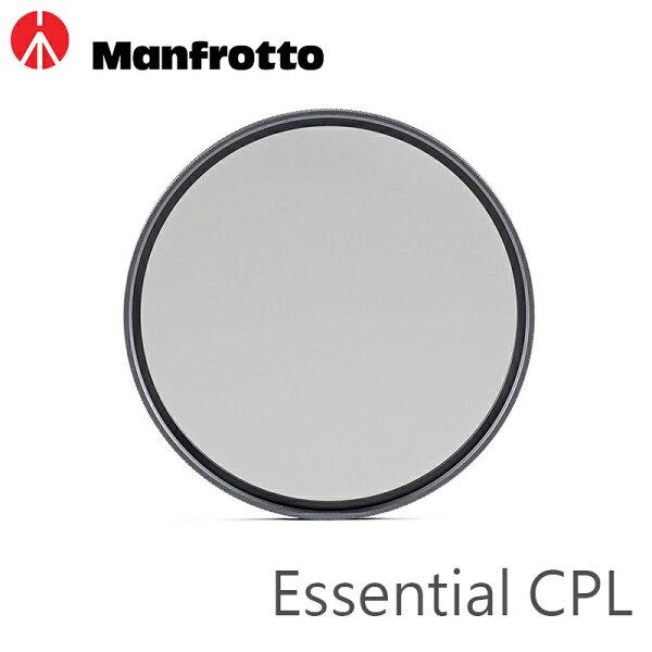 ◎相機專家◎ManfrottoEssentialCPL偏光鏡72mm防潑水抗反光正成公司貨