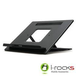 i-rocks IR-1360 (黑色) 筆電專用拖架 [天天3C]