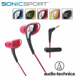 [富廉網] 鐵三角 ATH-SPORT2 防水運動型專用耳塞式耳機
