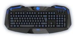 [富廉網] E-Blue 宜博 (EKM701BKUS-IU) 極光狂蛇 遊戲專用鍵盤 LED側邊發光 防潑水濺水設計 內設排水
