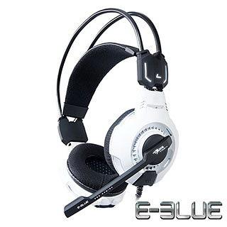 E-Blue Mazer 魅影狂蛇 白色 7.1聲道 耳機麥克風(EHS015WH) [天天3C]