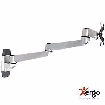 <br/><br/>  Xergo EM33114 雙延伸臂牆座式螢幕支架(和順電通) [天天3C]<br/><br/>