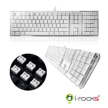 艾芮克 I-Rocks IK6 白色 水晶USB鍵盤 [天天3C]