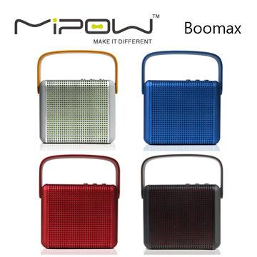 <br/><br/>  Mipow Boomax 立體聲藍牙喇叭(常元) [天天3C]<br/><br/>