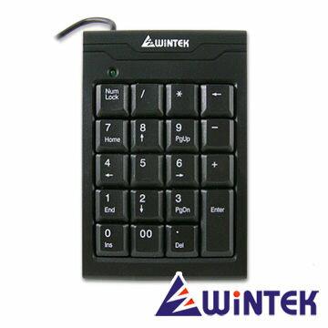 WiNTEK 文鎧 TK70 USB超薄19KEY數字鍵盤 [天天3C]