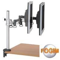 [富廉網] FOGIM TKLA-5082C4-SM 夾桌懸臂式液晶螢幕支架(單螢幕)((和順電通))