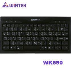 WINTEK 文鎧 WK590 USB迷你鍵盤 (黑色) [富廉網]