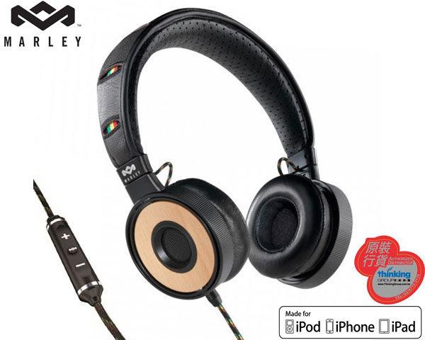 ★原廠公司貨附發票★ Marley 雷鬼 Redemption Song OE (EAR-MAR-FH023HA) Harvest 可換線頭戴式耳機麥克風 [天天3C]