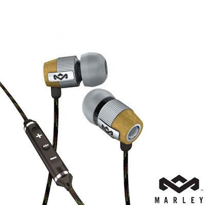 Marley 雷鬼 Redemption Song IE (EAR-MAR-FE003SM) Mist (銀色) 入耳式耳機麥克風含音量控制 [天天3C]
