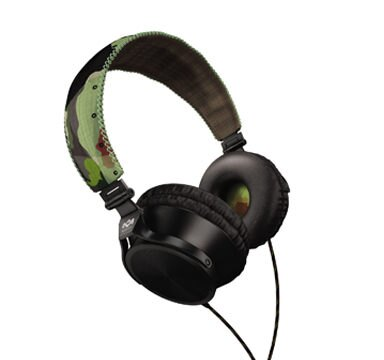 Marley 雷鬼 Revolution (EAR-MAR-JH020RV) (headphone) Revolution 迷彩綠 頭戴式耳機