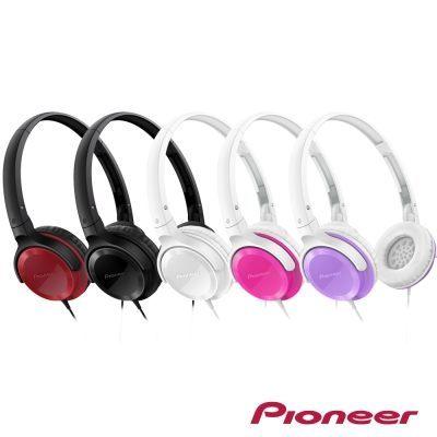 【天天3C】Pioneer SE-MJ502 馬卡龍色系 迷你耳罩式耳機