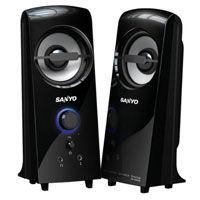 SANYO 三洋 雷之音 SYSP~927 2.0聲道多媒體電腦喇叭 ~天天3C~