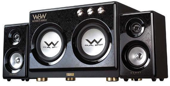 OZAKI WoW WR690 雙出力重低音90W發燒機 【天天3C】