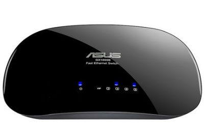 ASUS 華碩 GX-1005B V5 黑色 5埠高速乙太網路交換器 [天天3C]