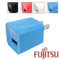 [富廉網] FUJITSU 富士通 US-01 1A電源供應器/AC轉USB轉接頭(5V/1A)