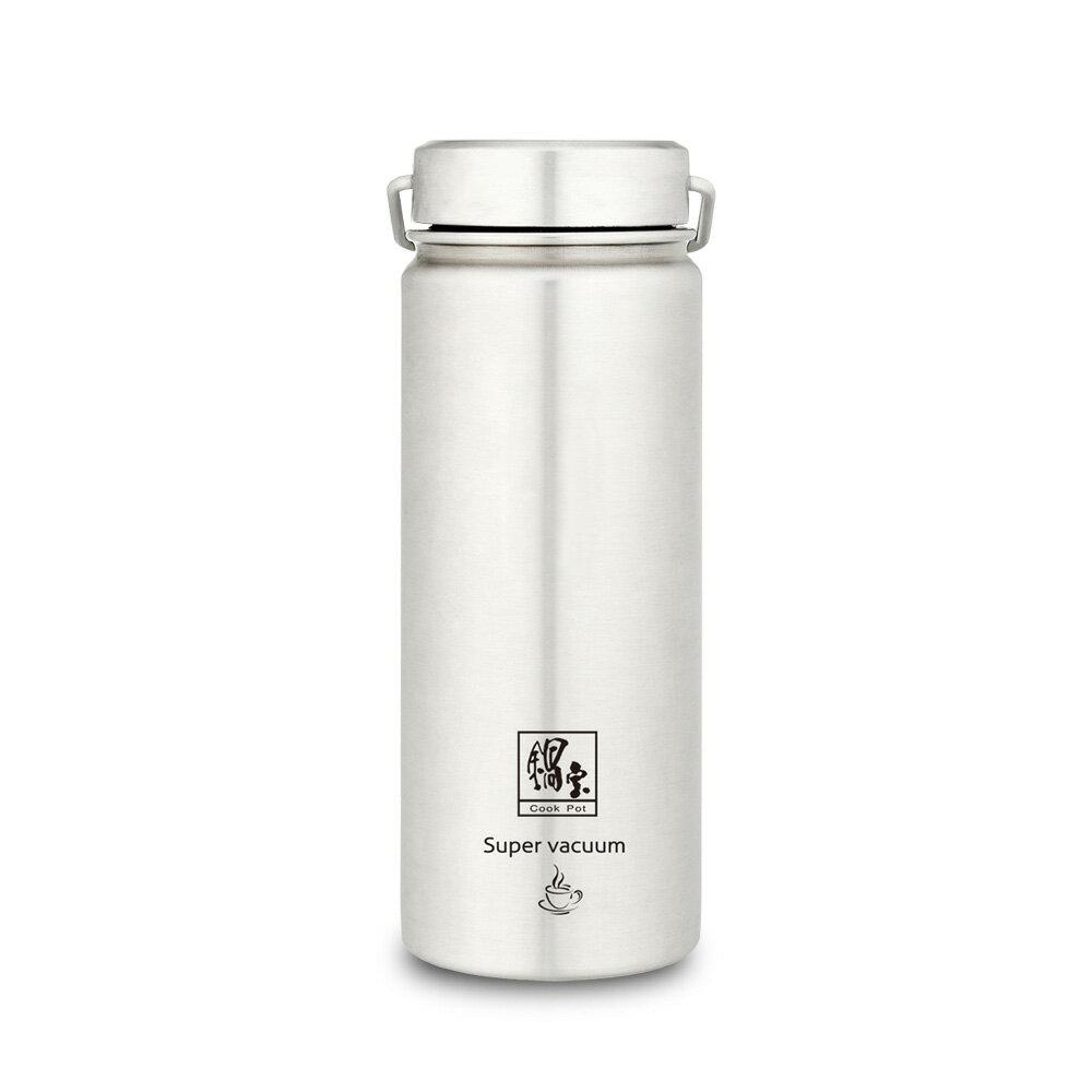 鍋寶 316不鏽鋼真空內陶瓷保溫瓶 560ML VBT-3656-1