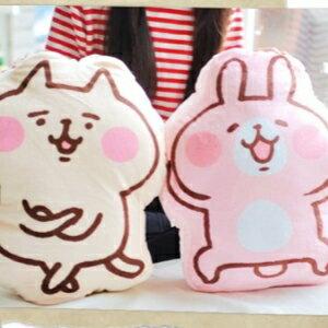 美麗大街【106011916】卡娜赫拉 兔子 貓咪抱枕 靠枕 枕頭