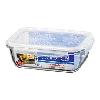 樂扣(LLG448)長玻璃保鮮盒1.35L