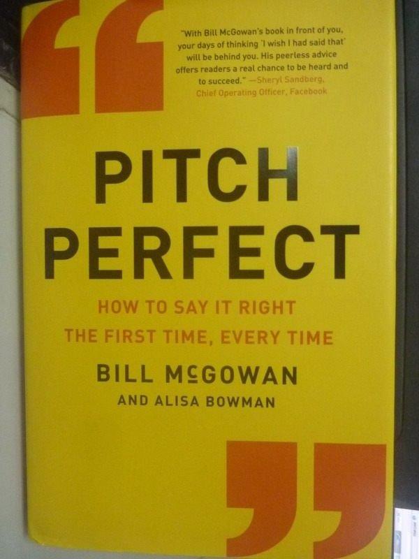 ~書寶 書T8/溝通_WDV~Pitch Perfect: How to Say It R