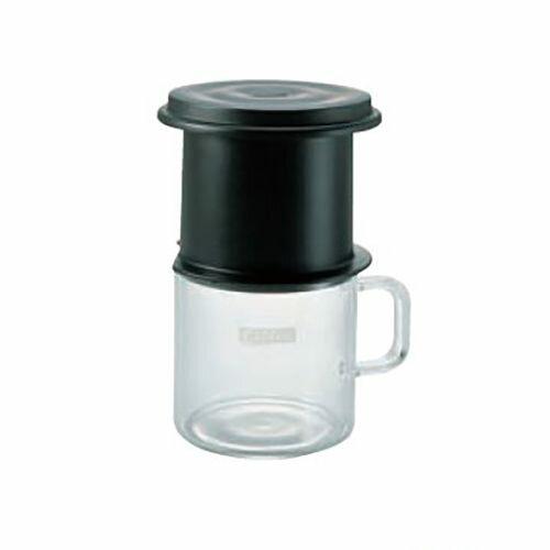 金時代書香咖啡Hario免濾紙咖啡金屬濾網獨享杯黑色