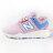 Shoestw【PH247KWW】NEW BALANCE NB247 中童鞋 運動鞋 鬆緊帶 免綁帶 襪套 Wide 網布 粉紅水藍 0