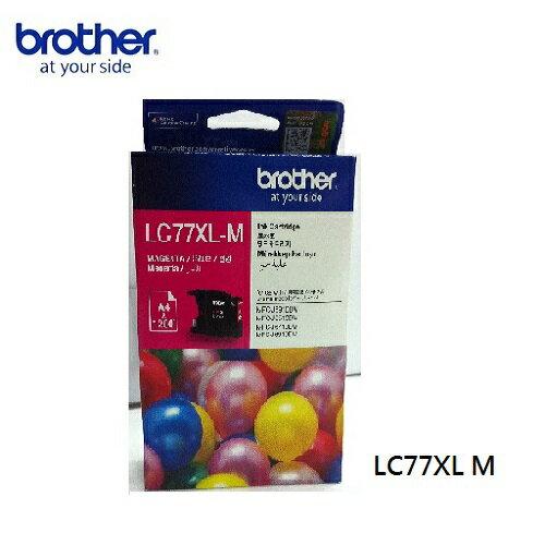 brotherLC77XL-M原廠高容量紅色墨水匣