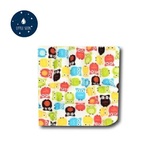 韓國【Little Seeds】四季毯(嬰兒毛毯)(貓頭鷹)