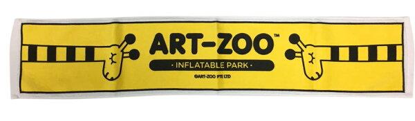 ART-ZOO特展運動毛巾-長頸鹿款