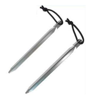【鄉野情戶外專業】 Rhino |台灣| 三角強力鋁板釘-18cm/鋁合金營釘/1606