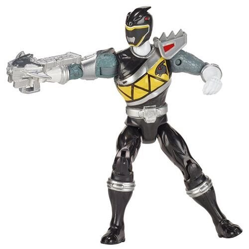 Power Rangers Dino Super Charge - Dino Steel Black Ranger 9ce1d2675647d9a88a9f7f20dd5f9267