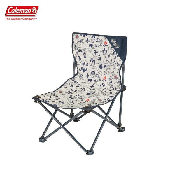 【露營趣】ColemanCM-33437露營地圖樂趣椅折疊椅休閒椅釣魚椅童軍椅