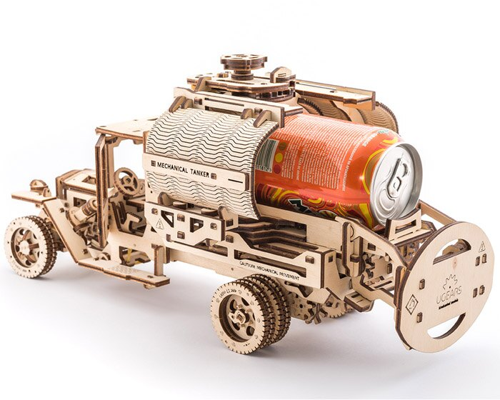 Ugears 自我推進模型 (Additions for Truck UGM-11卡車改造配件) 6