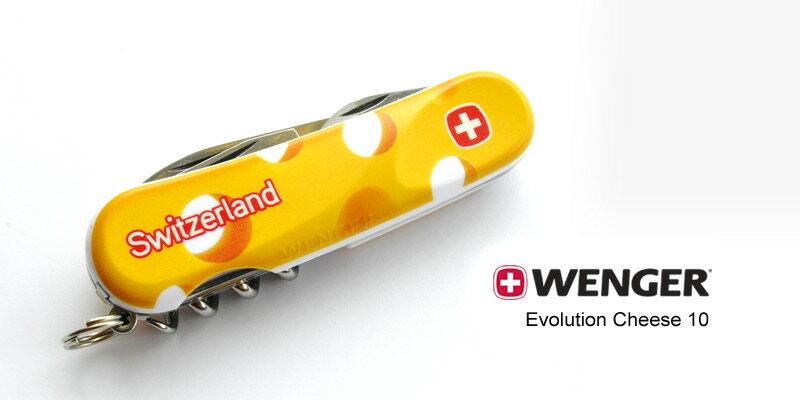 【鄉野情戶外用品店】 Wenger |瑞士| Evolution Cheese 10/十三功能瑞士刀/1.010.009.911.P1 【十三種功能】
