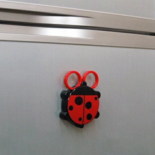 日本製動物食物剪刀(瓢蟲造型) 1