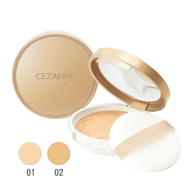 Cezanne 薄紗防曬蜜粉餅 782-02 1