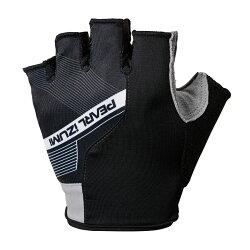 【7號公園自行車】PEARL IZUMI 229-4 男性吸震短指手套(黑)